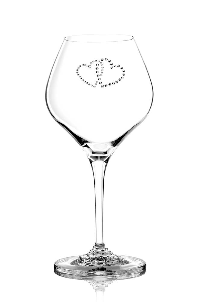 Wine glass Valentine