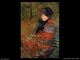 Autunno - Mary Cassat 1880