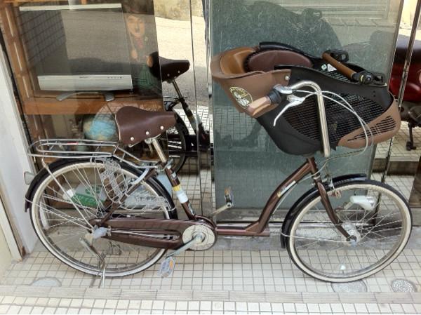 ペダル子供乗せ自転車