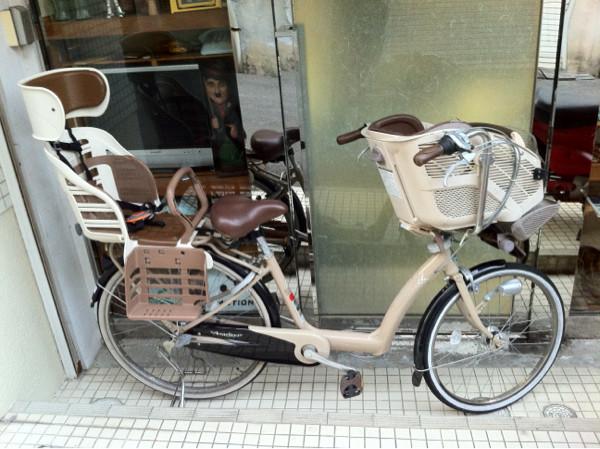 ブリジストン子供乗せ自転車アンジェリーノ