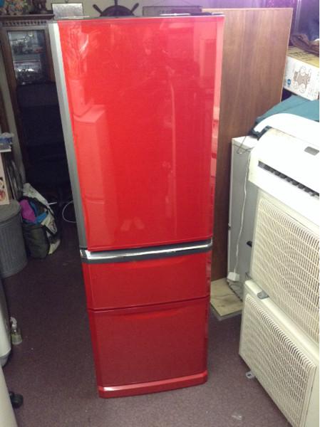 三菱3ドア冷蔵庫