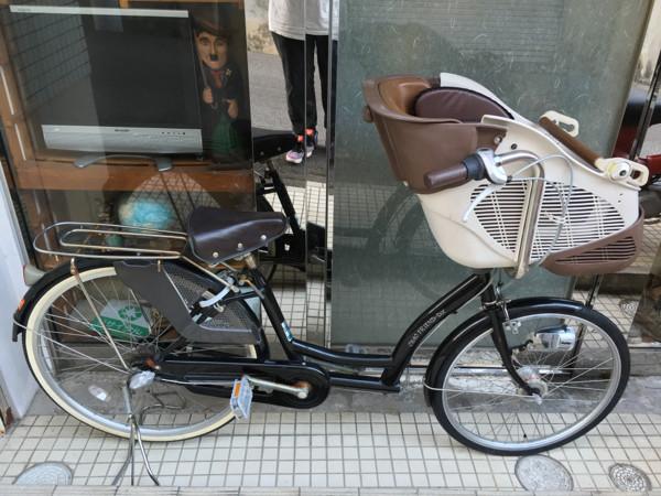 チャオフレンドDX子供乗せ自転車