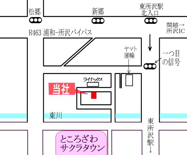 放電加工センター地図拡大