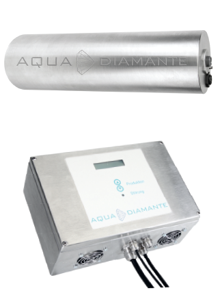 Abwasseraufbereitung mit Diamantelektroden