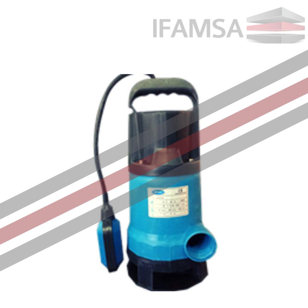 Bomba Sumergible Plástico 0.35HP