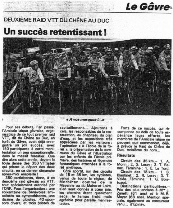 Ouest France - 26 octobre 1993