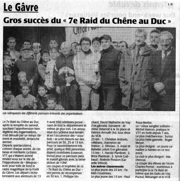 Presse Océan - 28 octobre 1998
