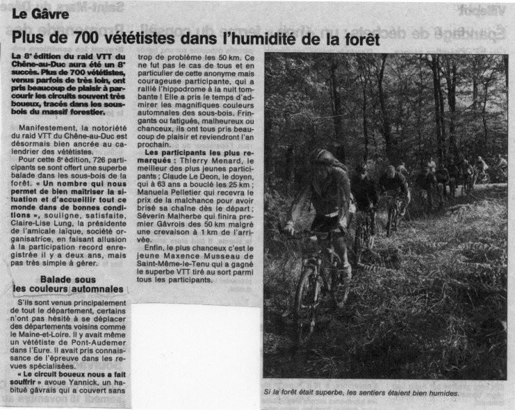 Ouest France - 03 novembre 1999
