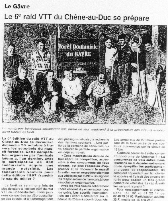 Ouest France - 16 octobre 1997