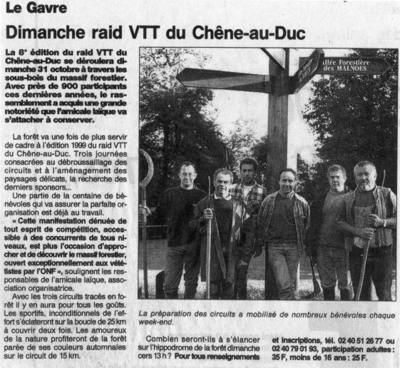 Ouest France - 26 octobre 1999