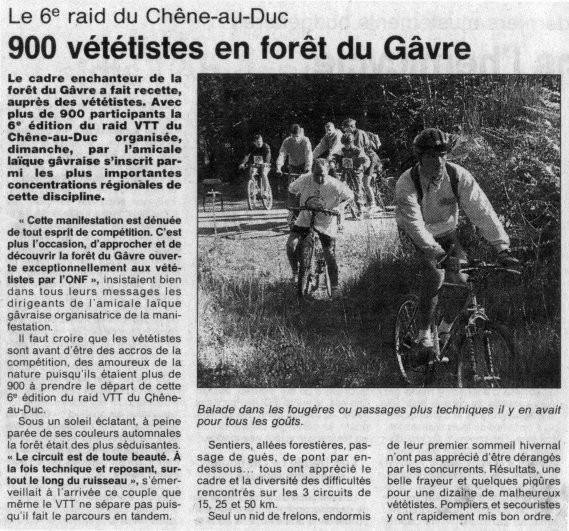 Ouest France - 28 octobre 1997