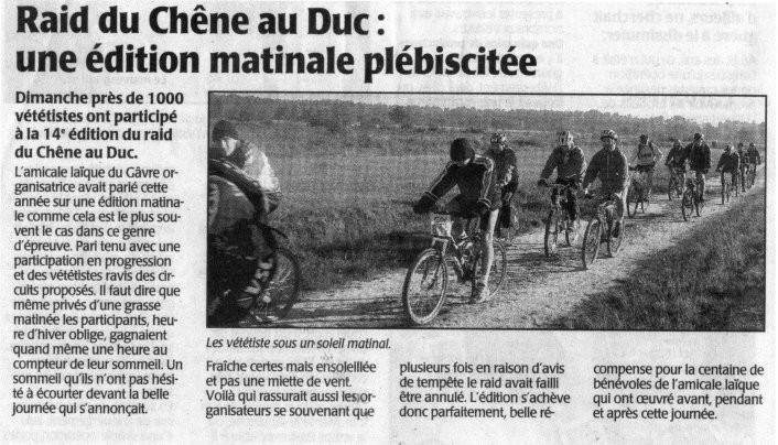Presse Océan - 28 octobre 2003