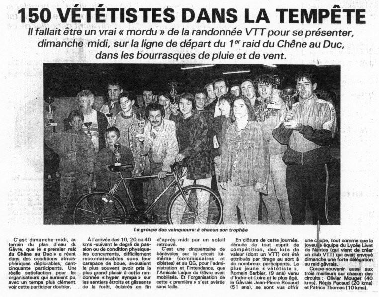 Presse Océan - 25 octobre 1992