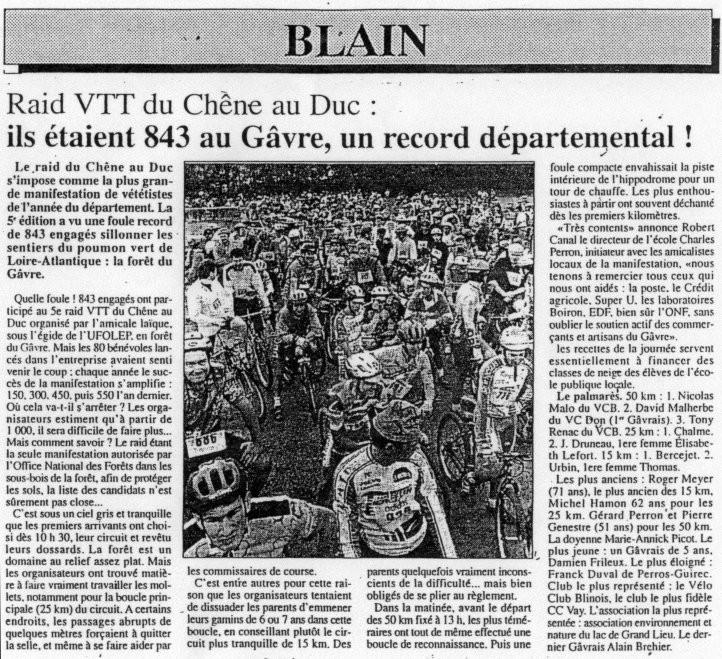 L'éclaireur - 25 otobre 1996