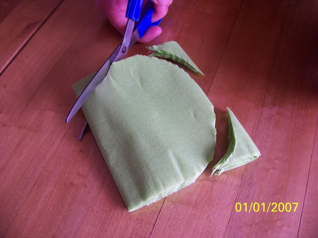 3) Séparer les ovales en coupant les cotés