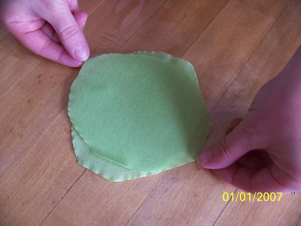 5) Poser sur la main qui forme un puit avec l'index et le pouce