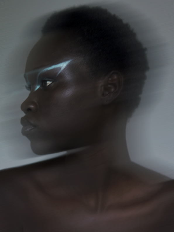 Nyayiena William by Sabine Villiard Open Space Agency Makeup by Me Amelie Moutia