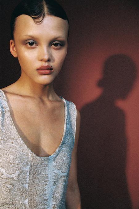 Model Jade Photographer Mathieu Rainaud Hair Nelson Stylist Livia Makeup Amelie Moutia