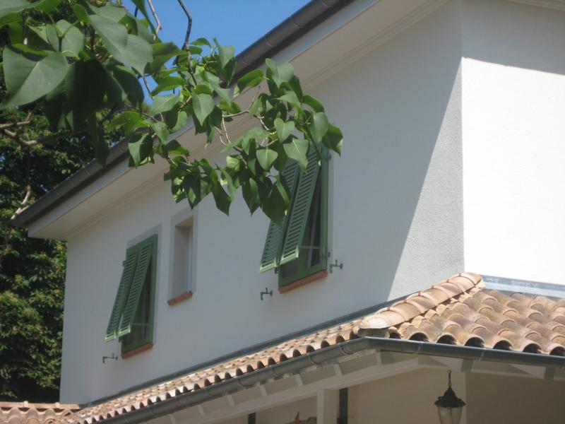 Klappläden Sanierung am kompletten Haus