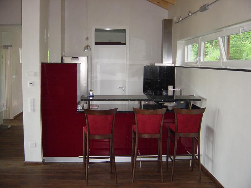 Küche für Gästehaus