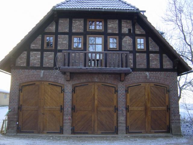 Originalgetreuer Nachbau der Tore