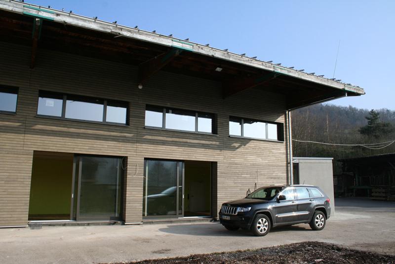 Holz-Aluminium-Fenster und Hebe-Schiebe-Türen