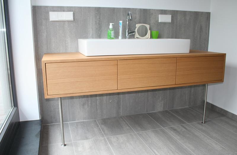 Individueller Waschbeckenunterschrank