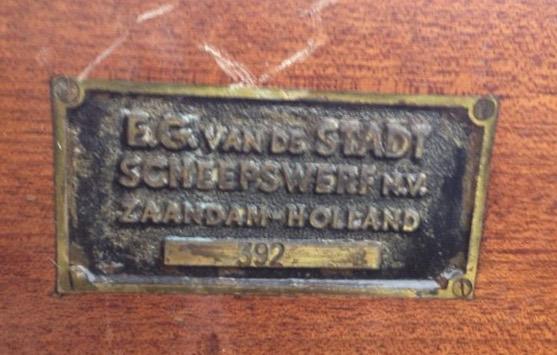 E.G. van de Stadt - Zaandam (Valk 392)