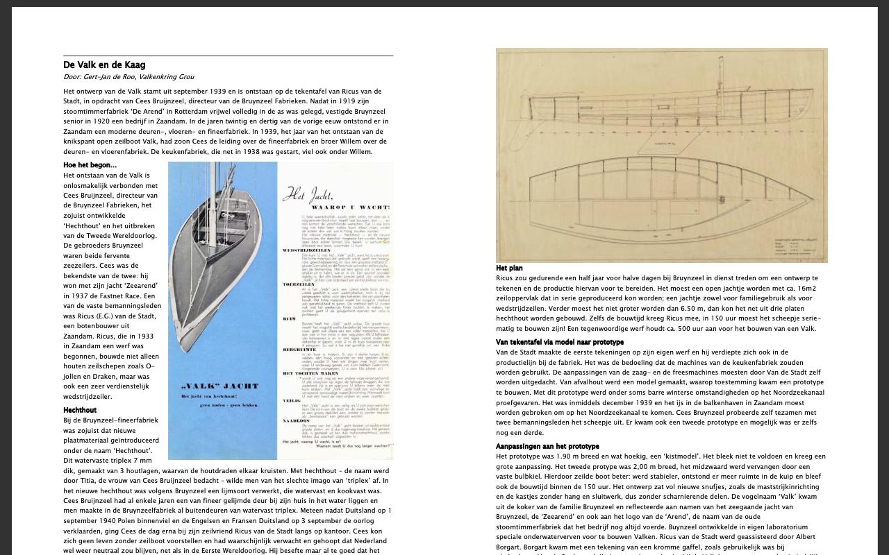Artikel in het blad 'Heen en Weer', het dorpsblad voor Kaag en Buitenkaag