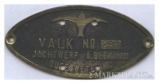 Bouwnummer 281 (Valk 232)