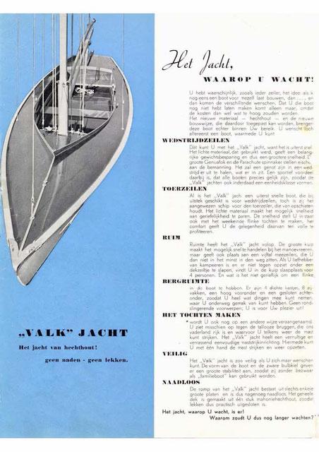 Bruynzeel's Valk brochure uit 1940