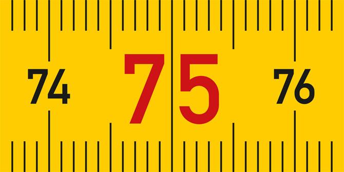 Ein Schreiner wird 75