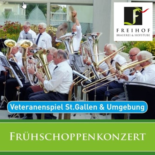 Frühschoppenkonzert Freihof Gossau