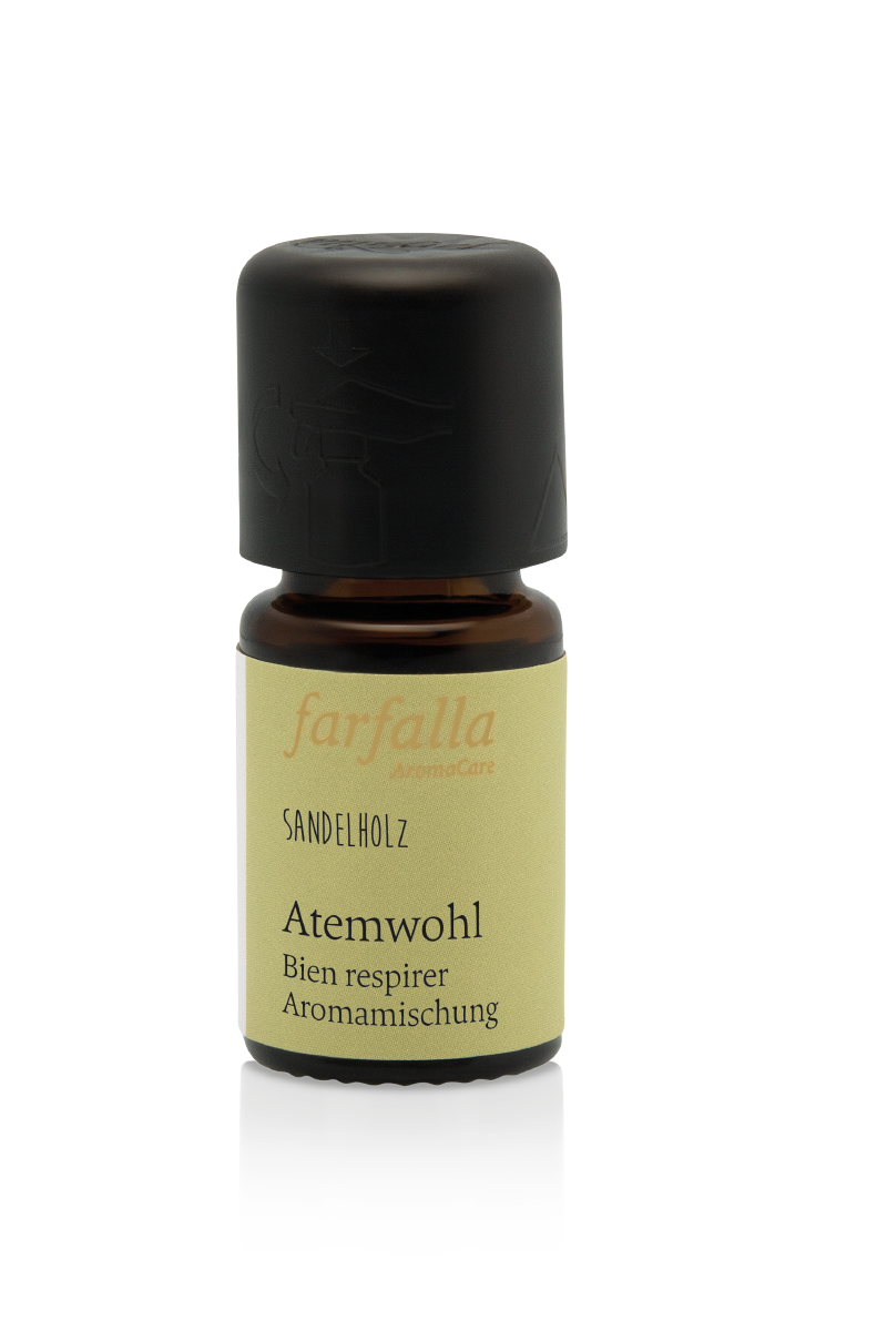 bleib gesund, Sandelholz, Atemwohl Aromamischung