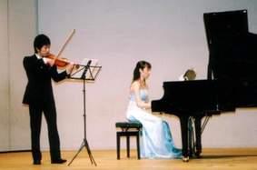 バイオリンの音色  パッヘルベルのカノン♪