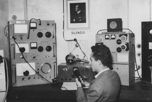 1949 –  LA RADIOCOSTIERA SAMBENEDETTESE  OPERATA DA  GIUSEPPE MOSCA OGGI I6TIH