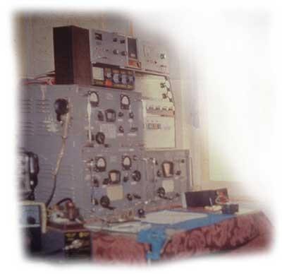 Stazione radio navale anni 50 appartenuta alla    M/n APOLLONIA – ZACC