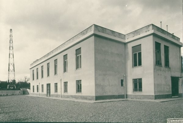 Stazione ricevente di Genoa-Radio/ICB anno 1950