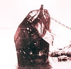 La nave Elettra nell'arsenale Triestino San Marco