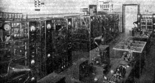 IAC  - Stazione trasmittente di Coltano Sala degli apparati RT ed RTF di trasmissione