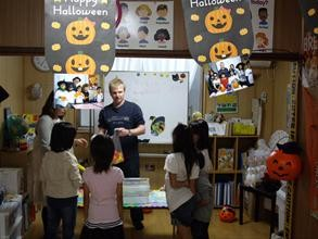 マック英会話教室、英語で遊ぼう♪イベントにて