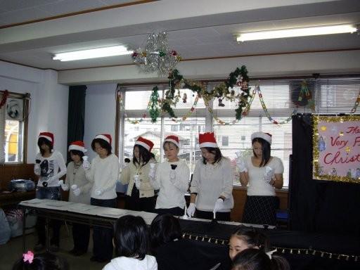 マック英会話教室クリスマスパーティ