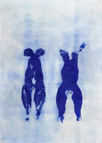 Anthropométrie sans titre (ANT 110), 1960, Yves Klein
