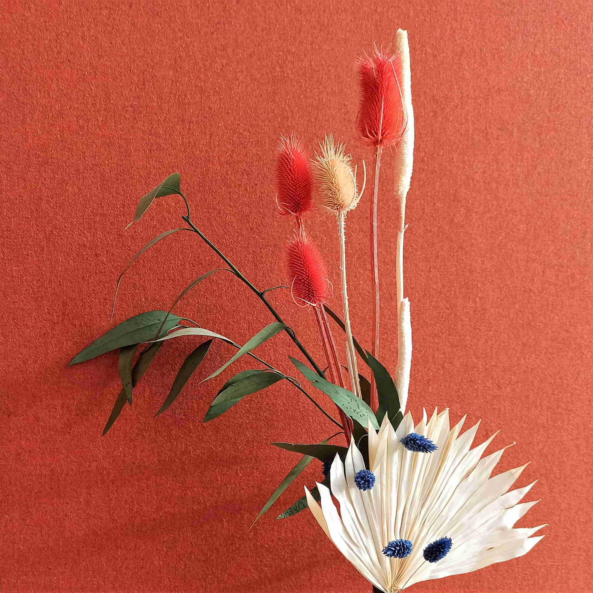 Harmonie chromatique florale d'Adeline Thuries © Atelier Marlène Vidal