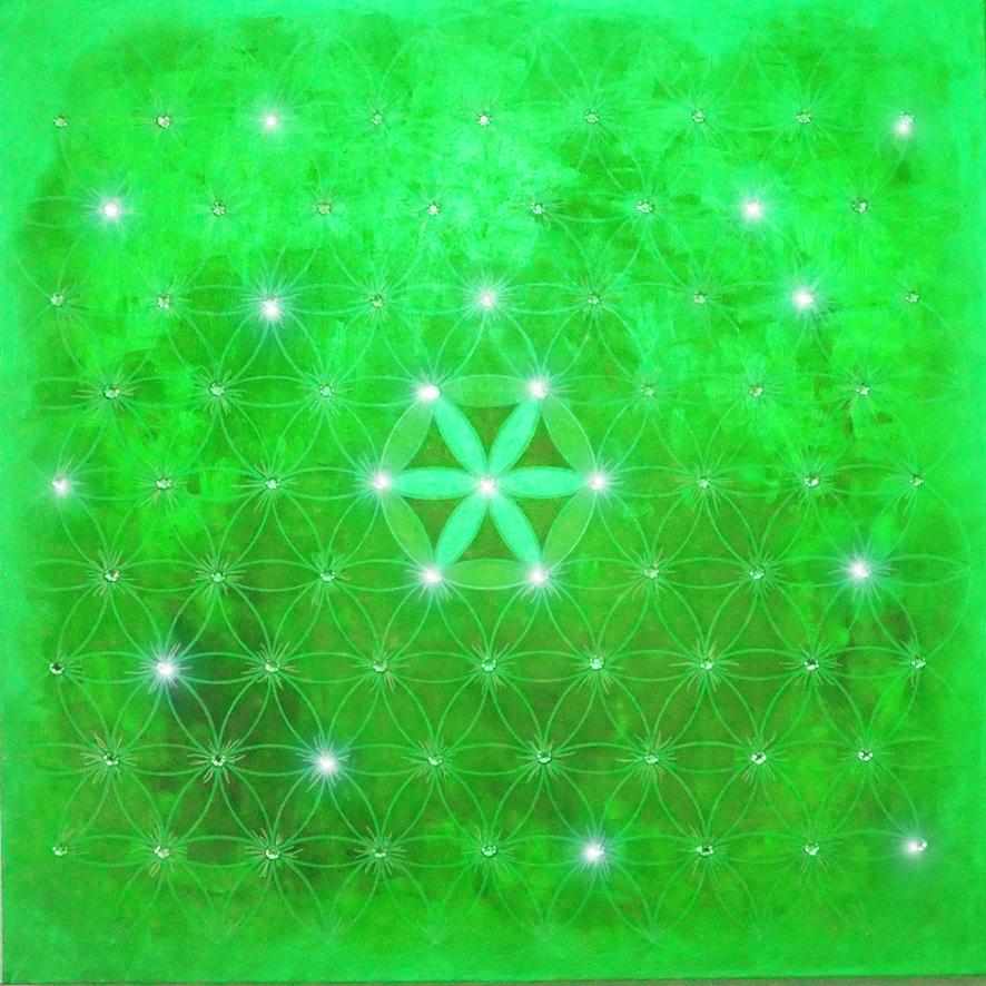 06. Endless Flower of Life - GREEN