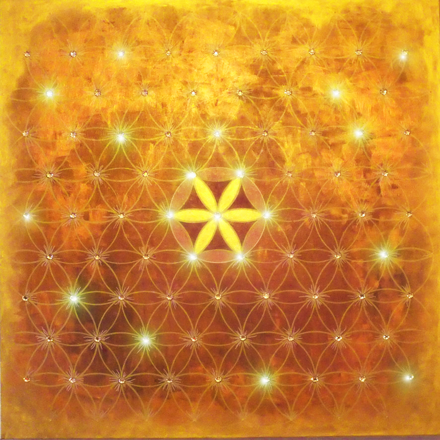 04. Endless Flower of Life - YELLOW