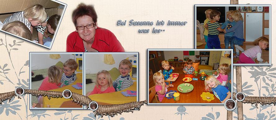 Tagesmutter Susanne aus Schwechat mit ihren Tageskindern