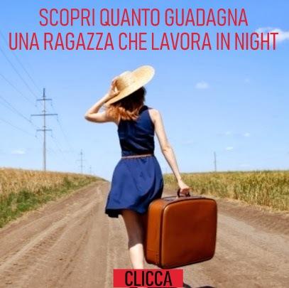 salario ragazze night