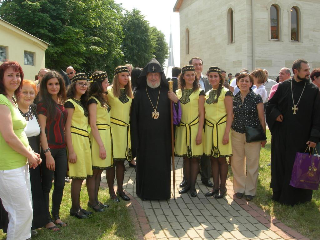 """Karekinas II-asis bei Kauno armėnų ansamblis """"Hayrenik"""""""