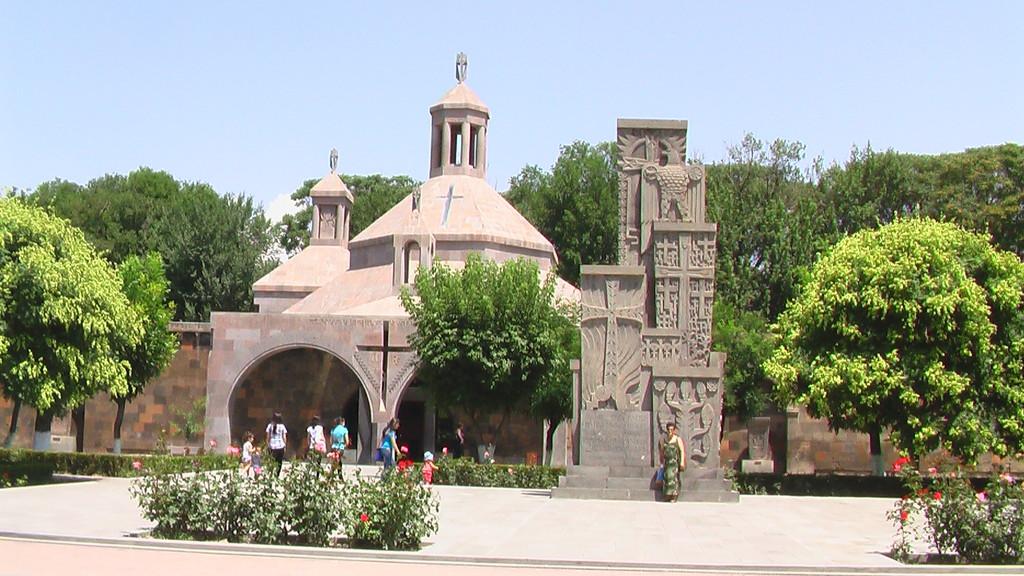 Echmiadzin - the residence of his Holiness Karekin II